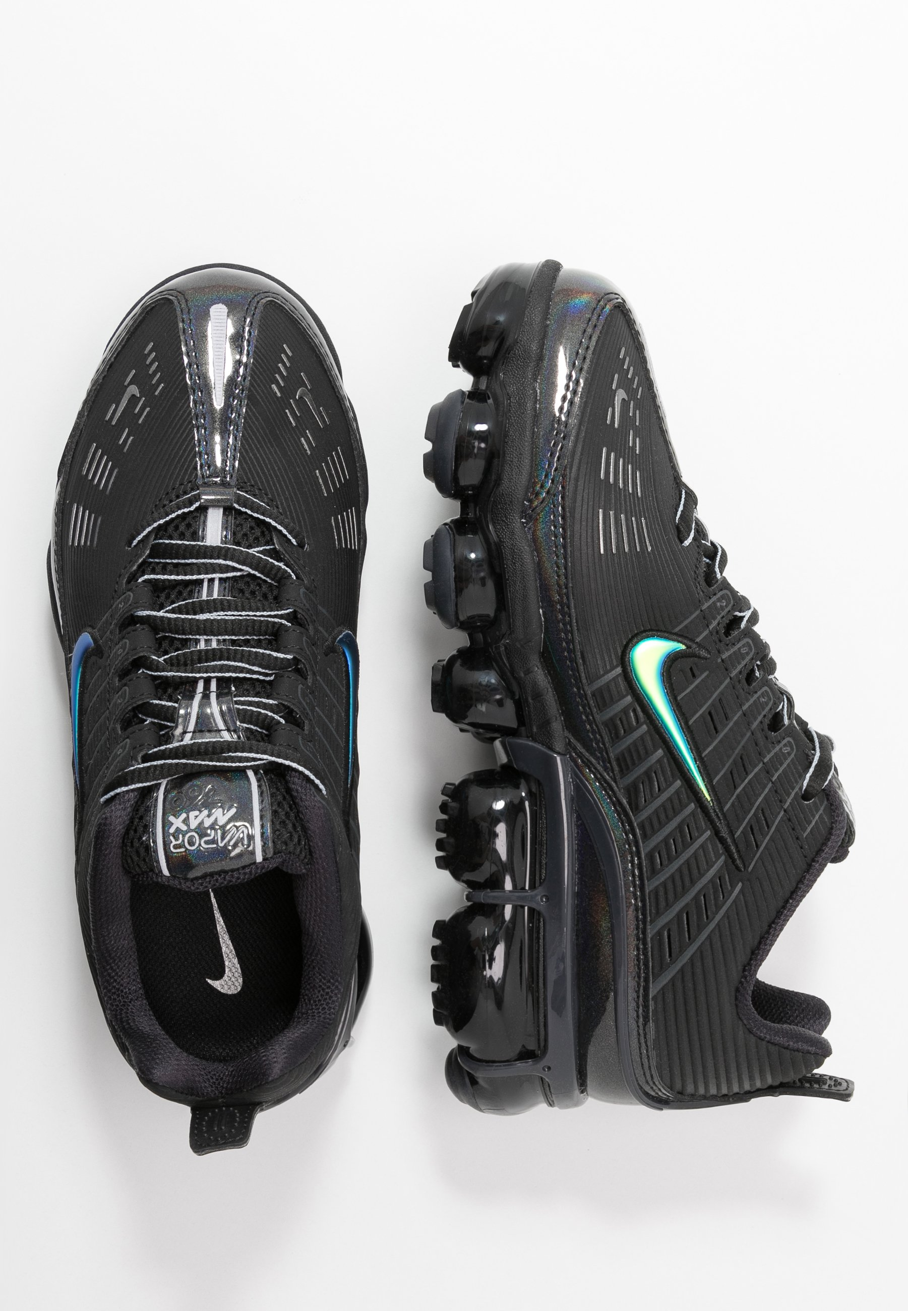 NIKE AIR VAPORMAX 360 Baskets basses blackanthracitemetallic dark grey