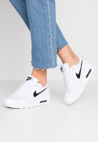 Nike Sportswear - AIR MAX 90 - Sneakers laag - white/black - 0