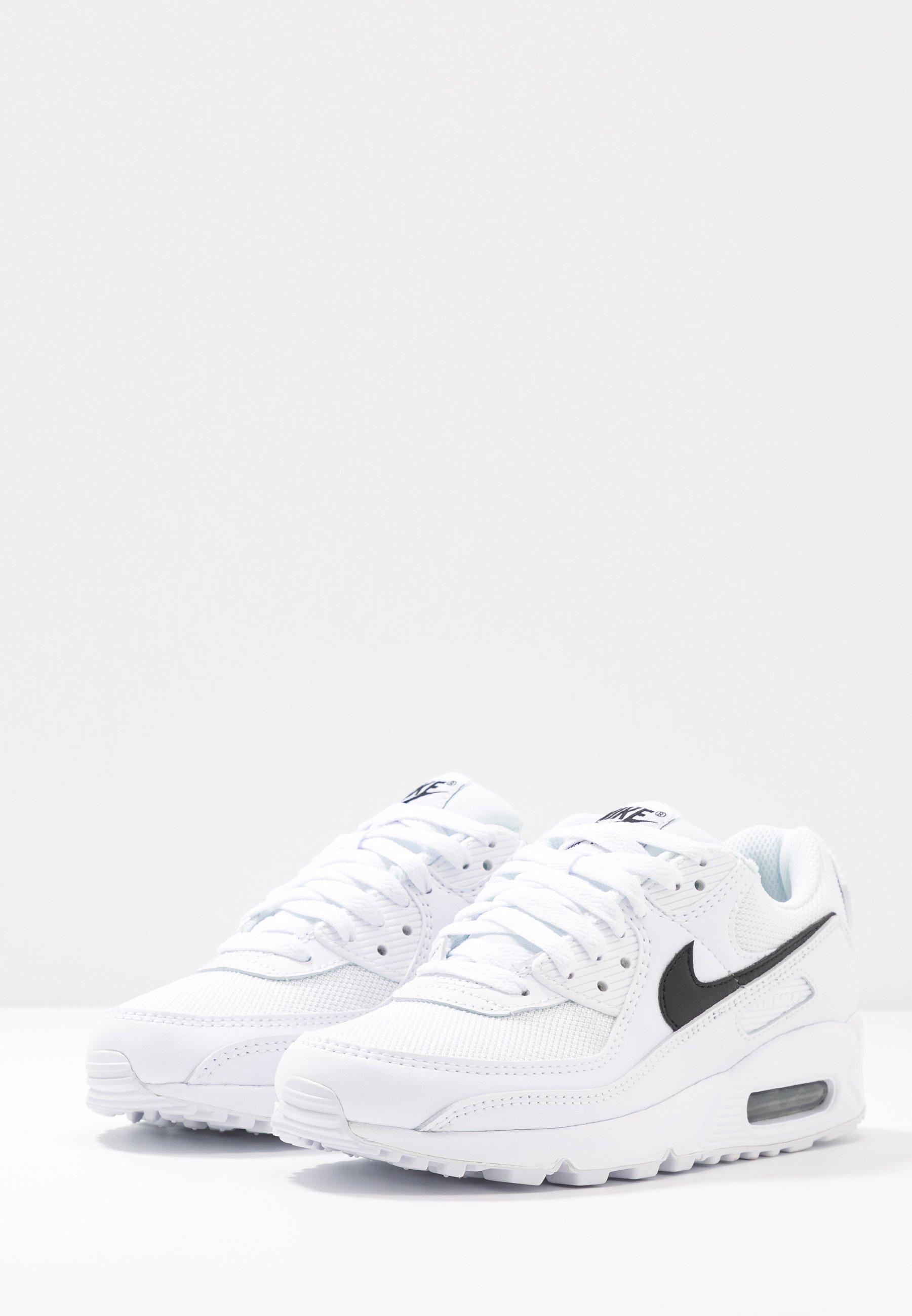Nike Sportswear AIR MAX 90 - Sneakersy niskie - white/black