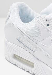 Nike Sportswear - AIR MAX 90 - Matalavartiset tennarit - white/wolf grey - 2