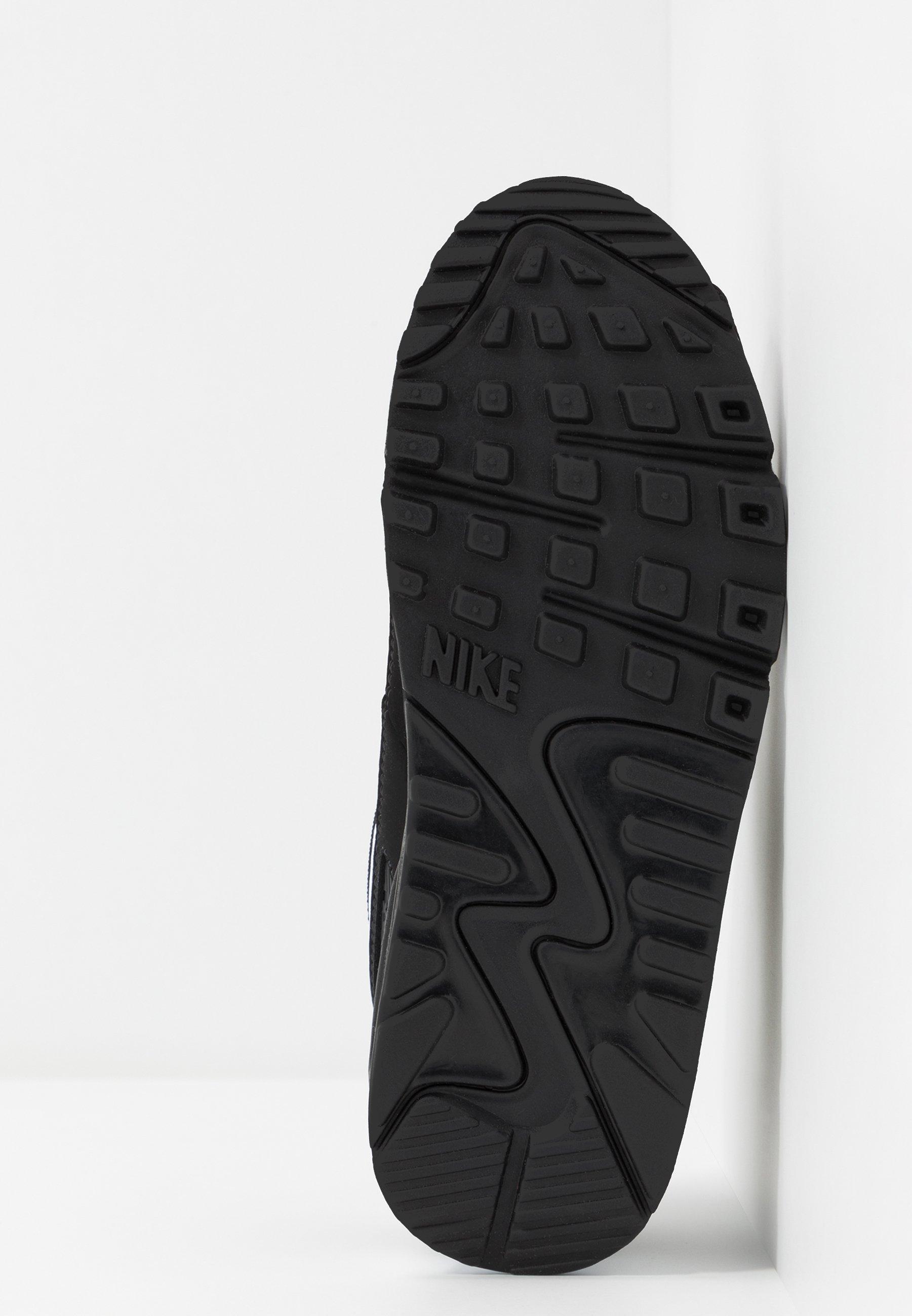 Nike Sportswear AIR MAX 90 - Sneakersy niskie - black/white