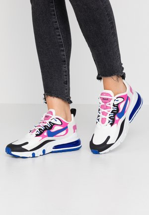 AIR MAX 270 REACT - Trainers - summit white/hyper blue/cosmic fuchsia/black