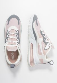Nike Sportswear - AIR MAX 270 REACT - Trainers - plum chalk/summit white/stone mauve/smoke grey - 3