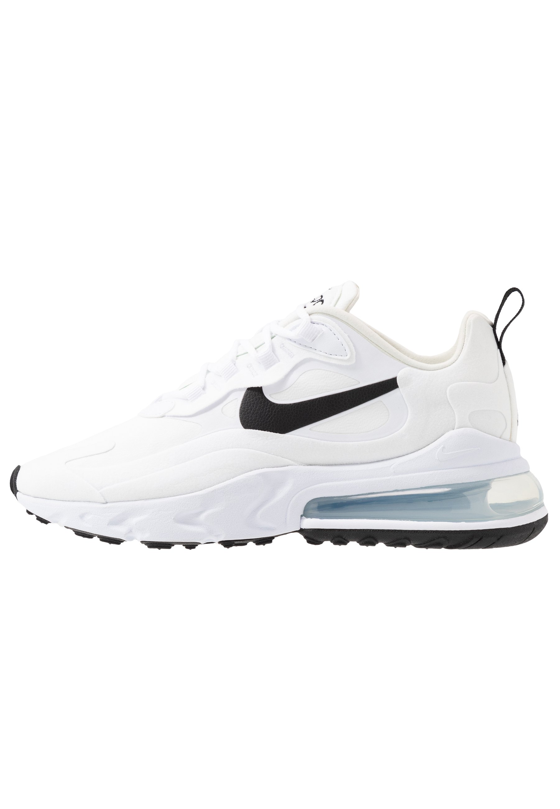 AIR MAX 270 REACT Sneakers whiteblackmetallic silver