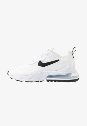 AIR MAX 270 REACT - Sneakers basse - white/black/metallic silver