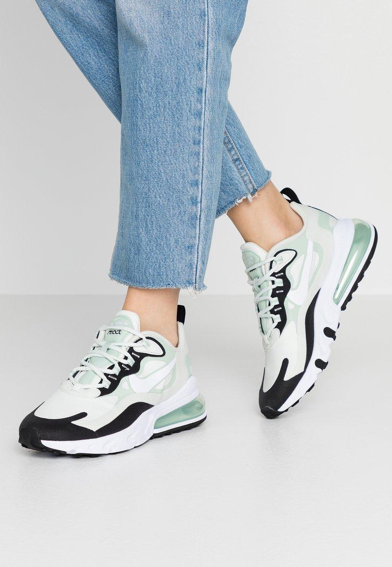 Nike Sportswear - AIR MAX 270 REACT - Zapatillas - spruce aura/white/pistachio frost/black