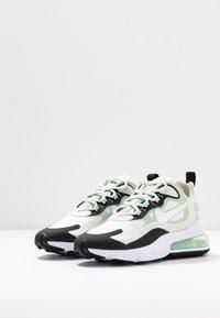 Nike Sportswear - AIR MAX 270 REACT - Zapatillas - spruce aura/white/pistachio frost/black - 4