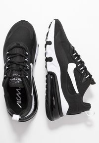 Nike Sportswear - AIR MAX 270 REACT - Trainers - black/white - 3