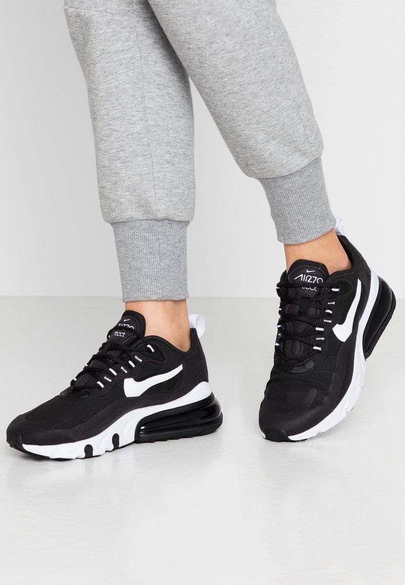 Nike Sportswear - AIR MAX 270 REACT - Trainers - black/white