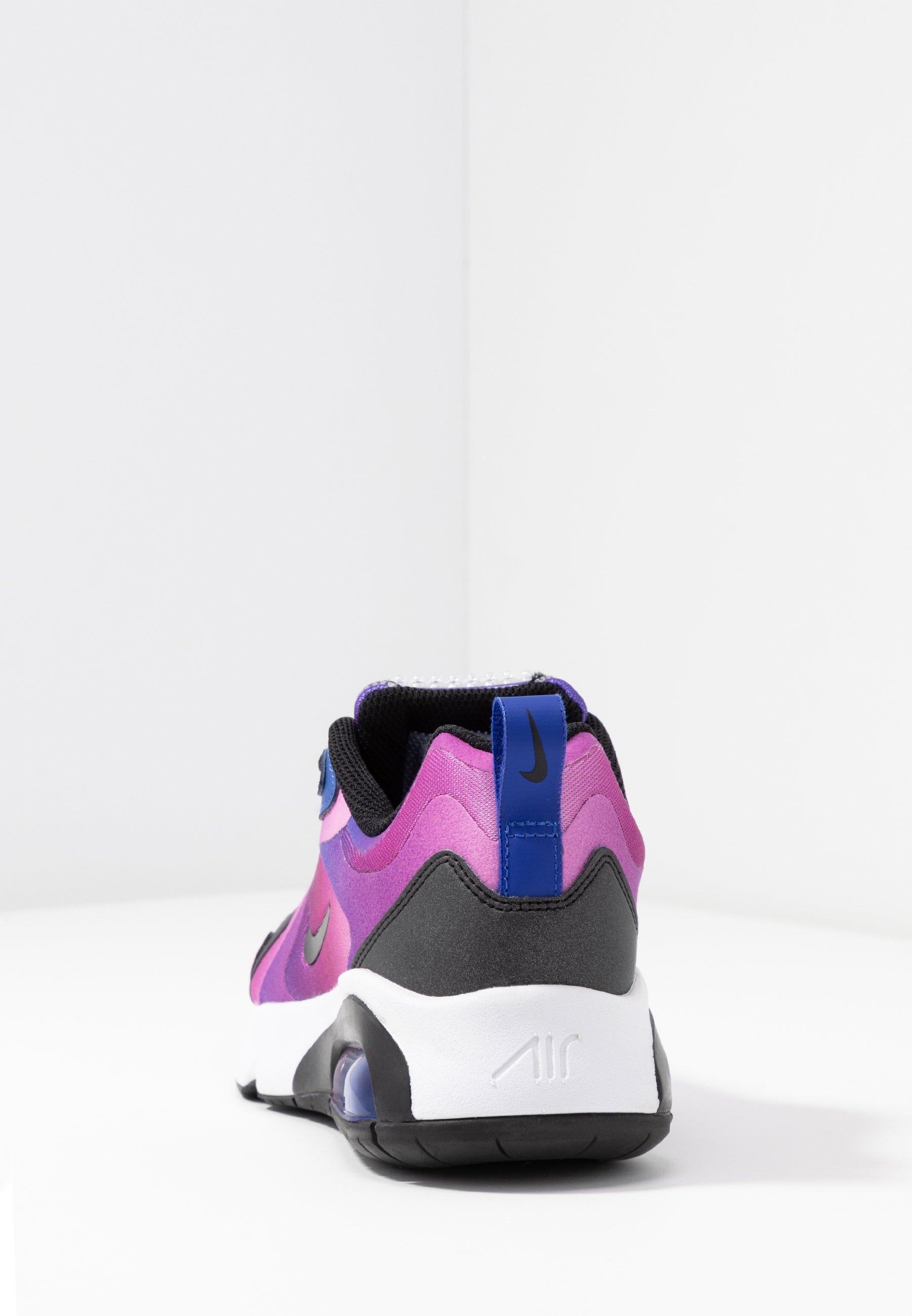 Nike Sportswear AIR MAX 200 - Sneakersy niskie - hyper blue/white/vivid purple/magic flamingo/black
