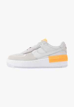 AIR FORCE 1 SHADOW - Sneakers laag - vast grey/laser orange/white