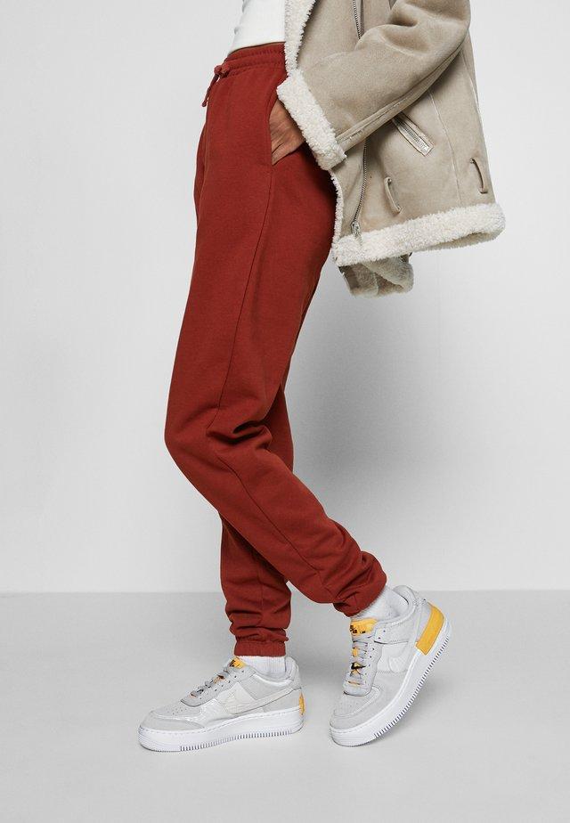 AIR FORCE 1 SHADOW - Sneakersy niskie - vast grey/laser orange/white