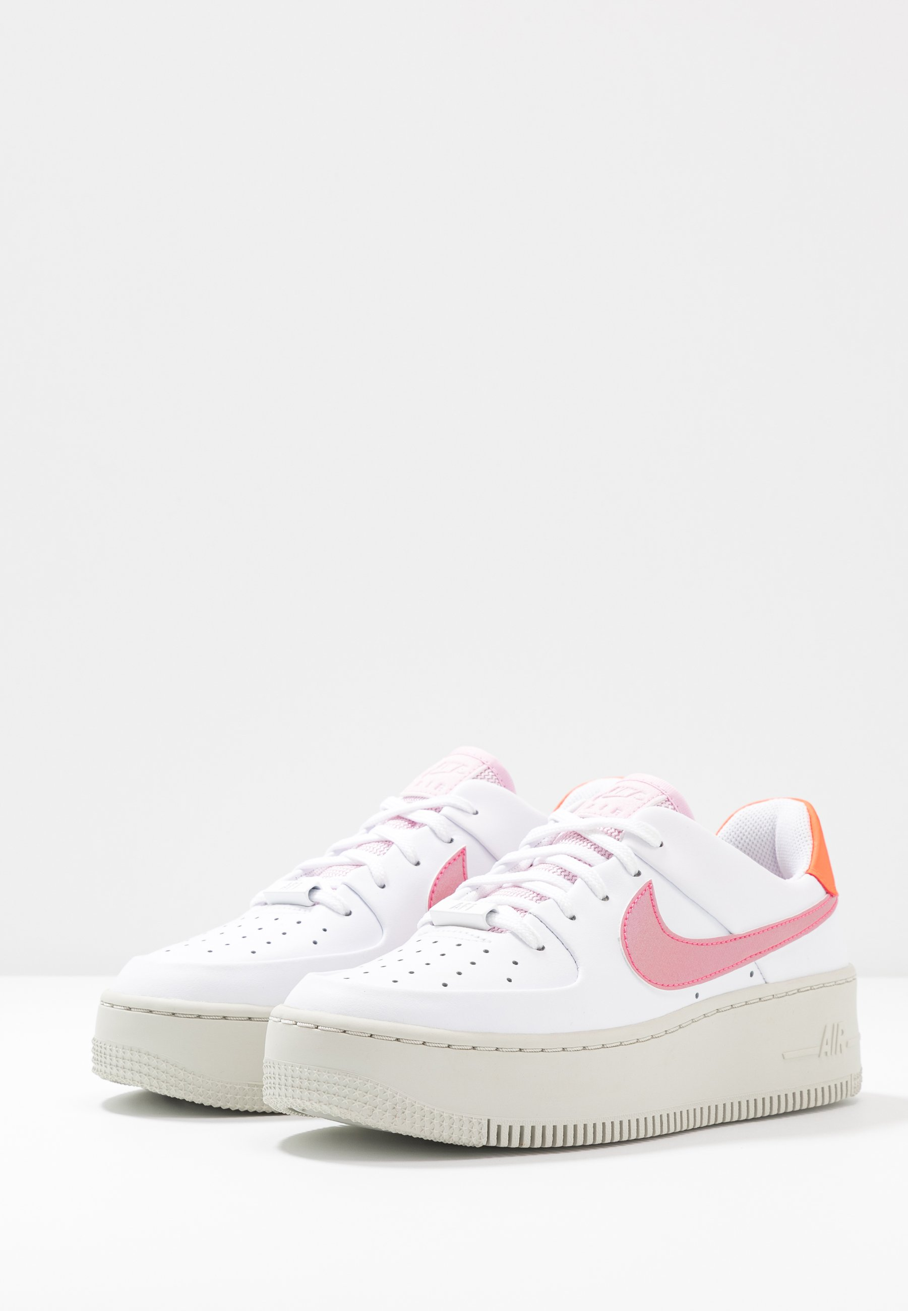 AIR FORCE 1 SAGE Sneakers laag light bonehyper crimsonpink foamdigital pinkwhite