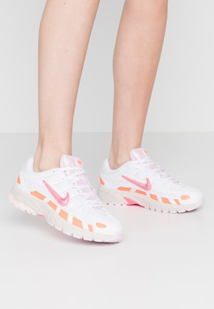 P6000 - Matalavartiset tennarit - white/digital pink/hyper crimson/pink foam/light bone