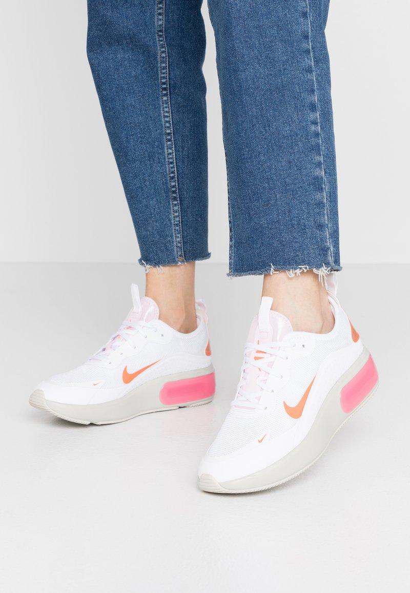 Nike Sportswear - AIR MAX DIA - Trainers - white/hyper crimson/pink foam/digital pink/light bone