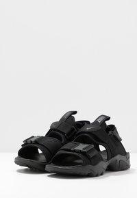 Nike Sportswear - CANYON  - Vaellussandaalit - black - 4