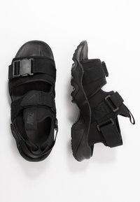 Nike Sportswear - CANYON  - Vaellussandaalit - black - 3