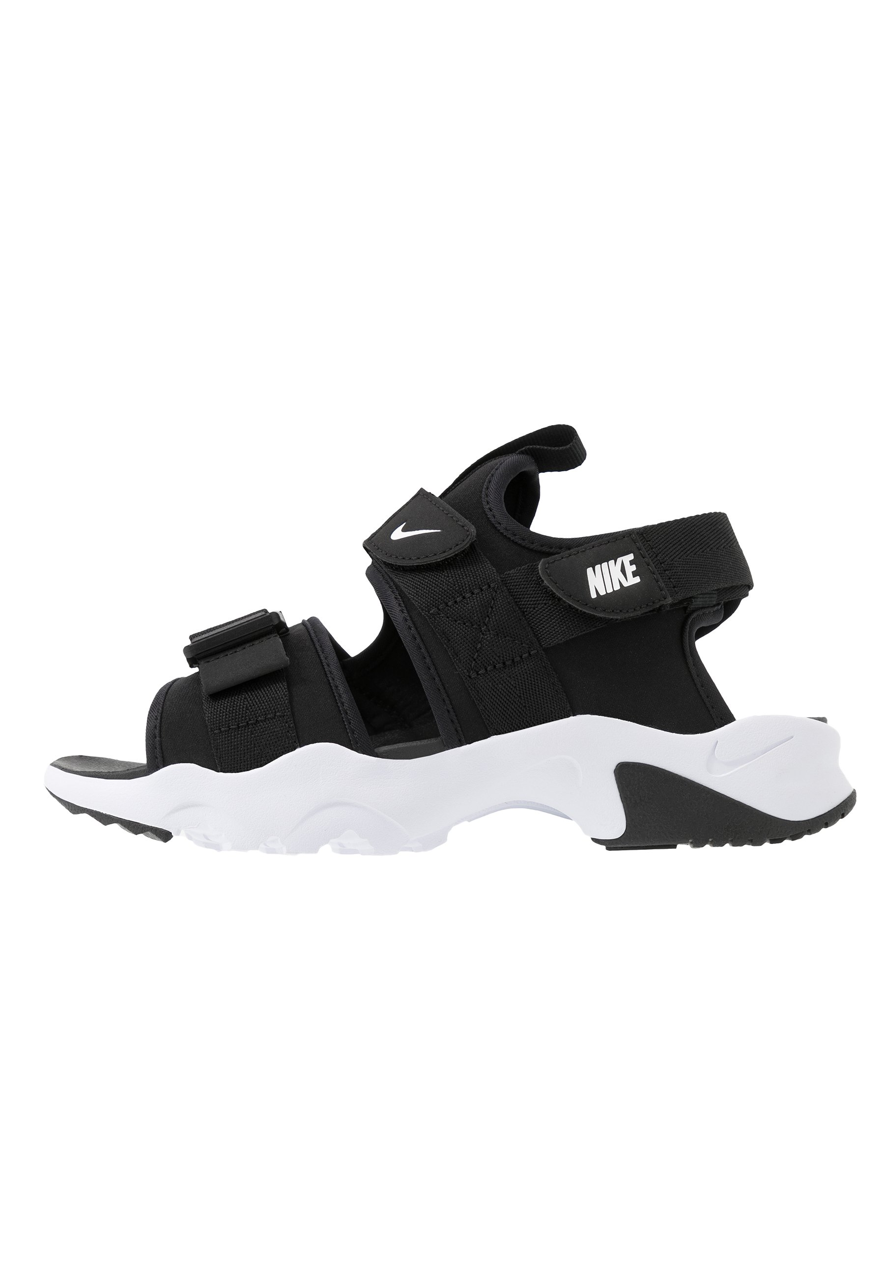 Nike Sportswear CANYON Tursandaler blackwhite Zalando.no
