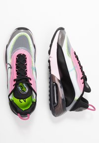 Nike Sportswear - AIR MAX 2090 - Sneakers laag - white/black/pink foam/lotus pink/volt/blue gaze - 3