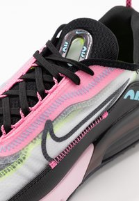 Nike Sportswear - AIR MAX 2090 - Sneakers laag - white/black/pink foam/lotus pink/volt/blue gaze - 2