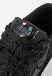 Nike Sportswear - AIR MAX 90 - Sneakers laag - black/white - 2