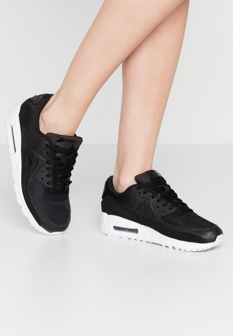 Nike Sportswear - AIR MAX 90 - Sneakers laag - black/white