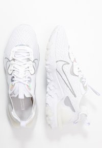 Nike Sportswear - REACT VISION - Trainers - white/platinum tint/white - 3
