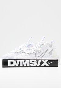 Nike Sportswear - REACT VISION - Trainers - white/platinum tint/white - 7