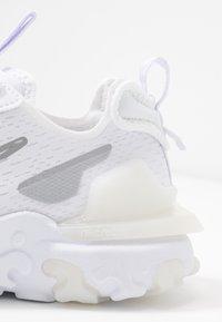 Nike Sportswear - REACT VISION - Trainers - white/platinum tint/white - 2