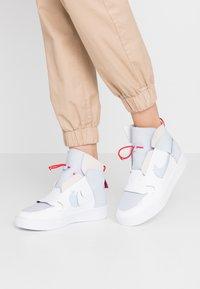 Nike Sportswear - VANDAL - High-top trainers - sky grey/hydrogen blue/white/university red - 0
