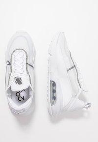 Nike Sportswear - AIR MAX 2090 - Trainers - white/wolf grey/black - 3
