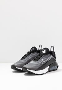 Nike Sportswear - AIR MAX 2090 - Trainers - black/white/metallic silver - 4