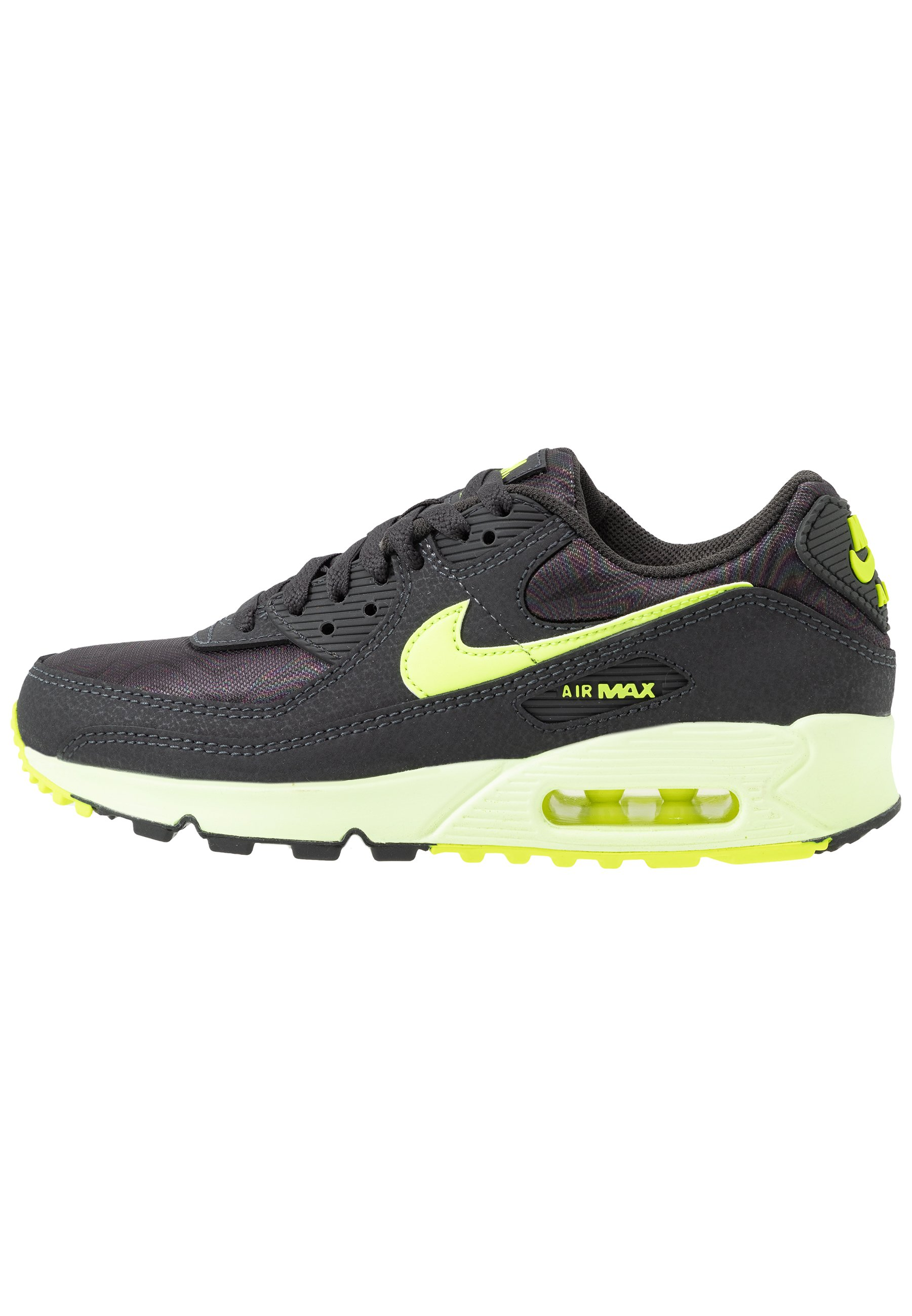 AIR MAX 90 Sneakers laag dark smoke greyvoltbarely volt