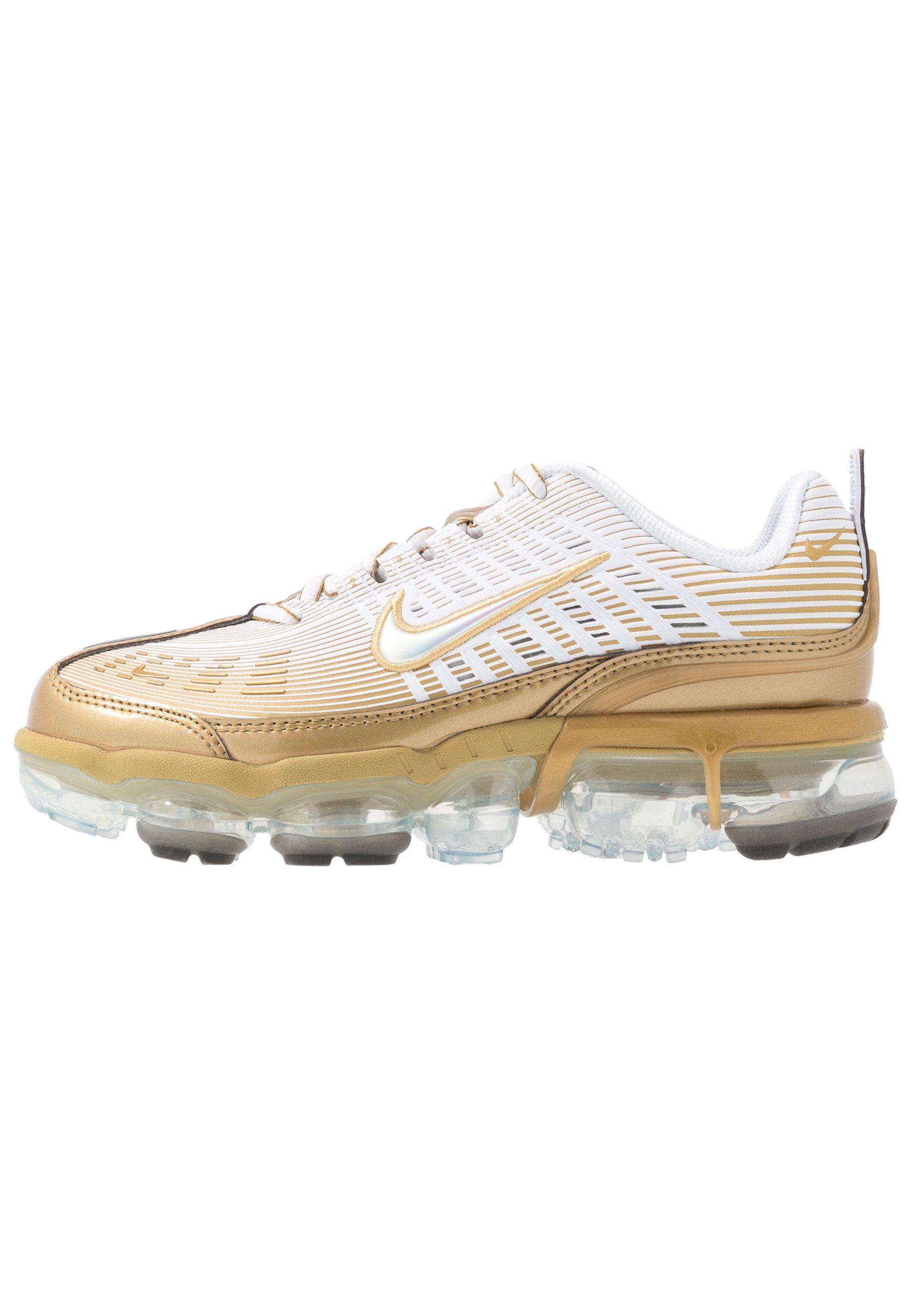 Nike Sportswear AIR VAPORMAX 360 - Baskets basses - white/metallic gold/black/metallic silver