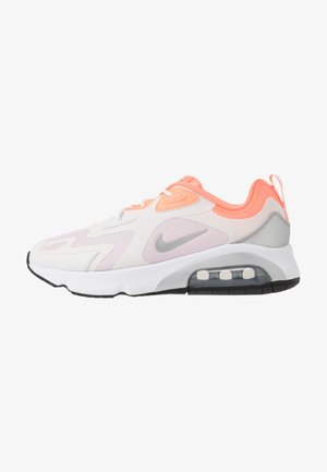 AIR MAX 200 - Sneakers laag - summit white/metallic silver/light violet/atomic pink/white/black
