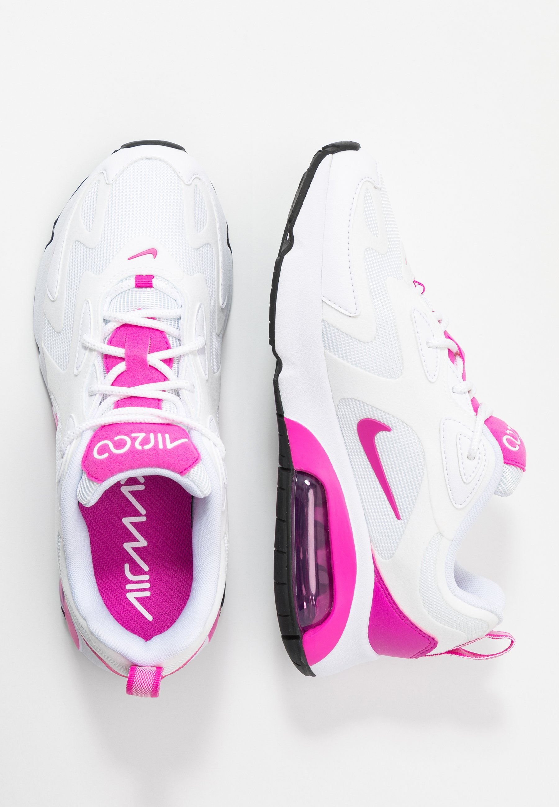 AIR MAX 200 Joggesko whitefire pinkblack