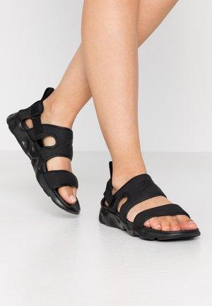OWAYSIS - Sandaalit nilkkaremmillä - black