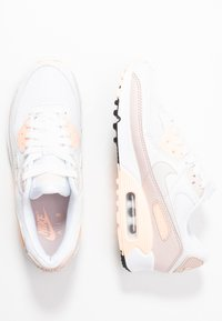 Nike Sportswear - AIR MAX 90 - Sneaker low - white/platinum tint/barely rose/crimson tint - 3