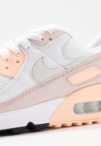 Nike Sportswear - AIR MAX 90 - Sneakers basse - white/platinum tint/barely rose/crimson tint