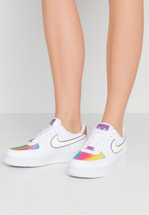 AIR FORCE 1  - Sneakers - white/barely volt/hyper blue/purple/washed coral
