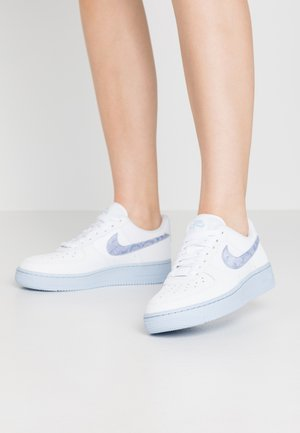 AIR FORCE 1 - Trainers - white/hydrogen blue/laser blue