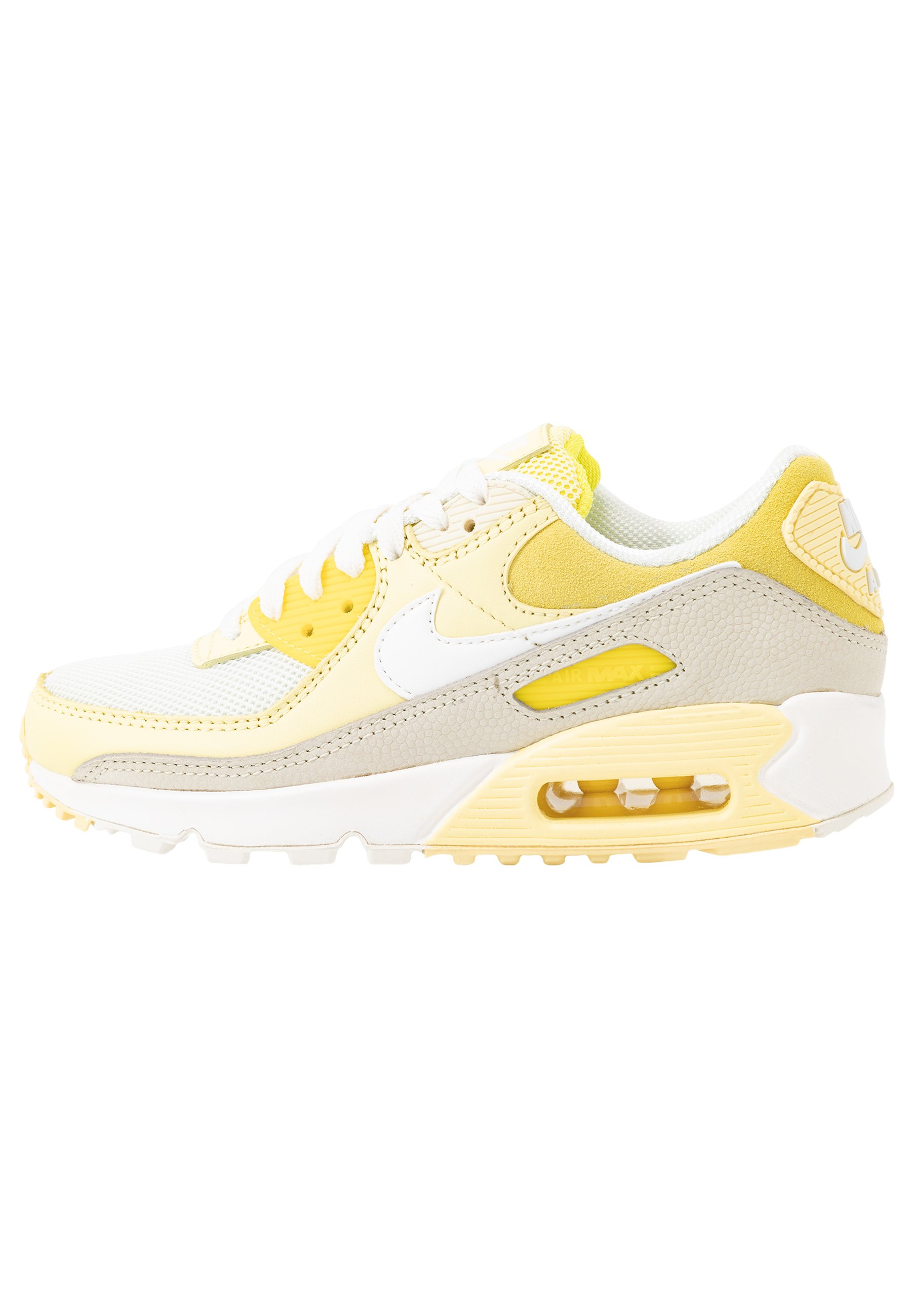 AIR MAX 90 Sneaker low optic yellowwhitefossilbicycle yellowsail