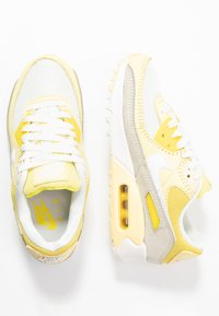 Nike Sportswear - AIR MAX 90 - Trainers - optic yellow/white/fossil/bicycle yellow/sail - 3