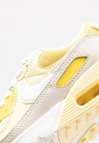 Nike Sportswear - AIR MAX 90 - Trainers - optic yellow/white/fossil/bicycle yellow/sail - 7