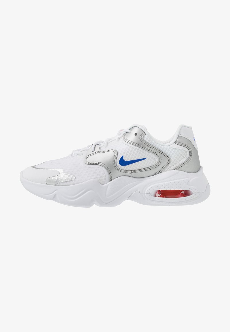 Nike Sportswear - AIR MAX 2X - Sneakers laag - white/racer blue/metallic silver/bright crimson/flash crimson