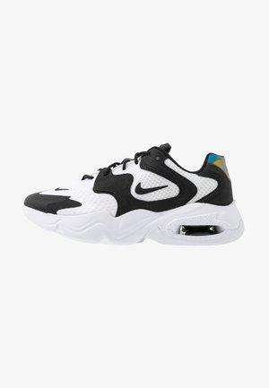 AIR MAX 2X - Sneakers laag - white/black