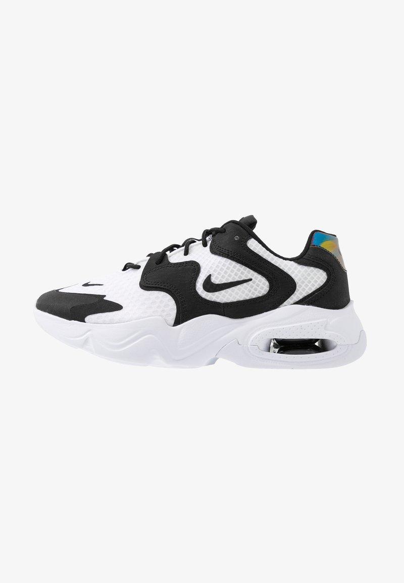 Nike Sportswear - AIR MAX 2X - Sneakers laag - white/black