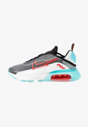 AIR MAX 2090 - Sneakers laag - black/chile red/bleached aqua/summit white