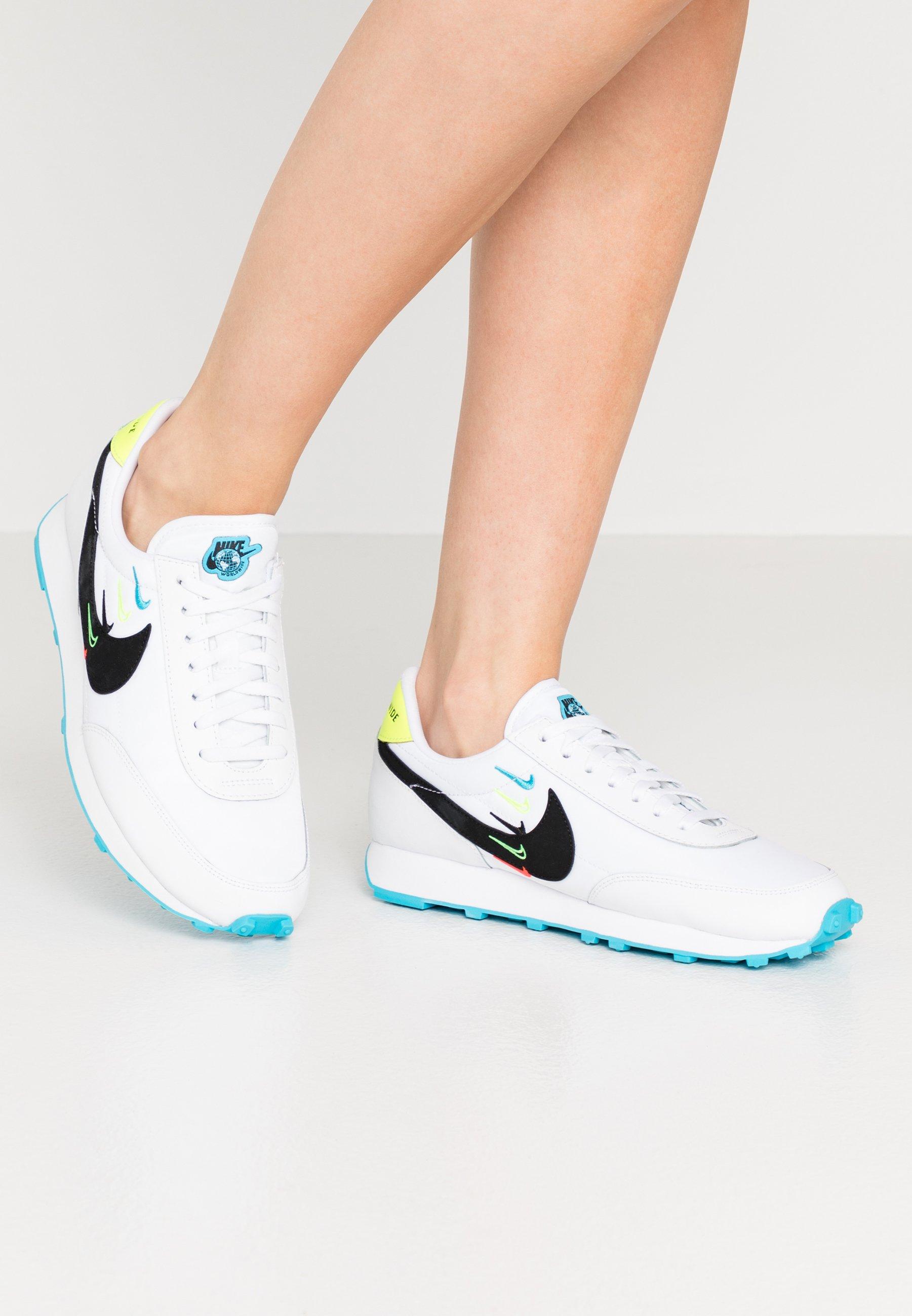 Nike Sportswear ZOOM Baskets basses whiteblack ZALANDO.BE