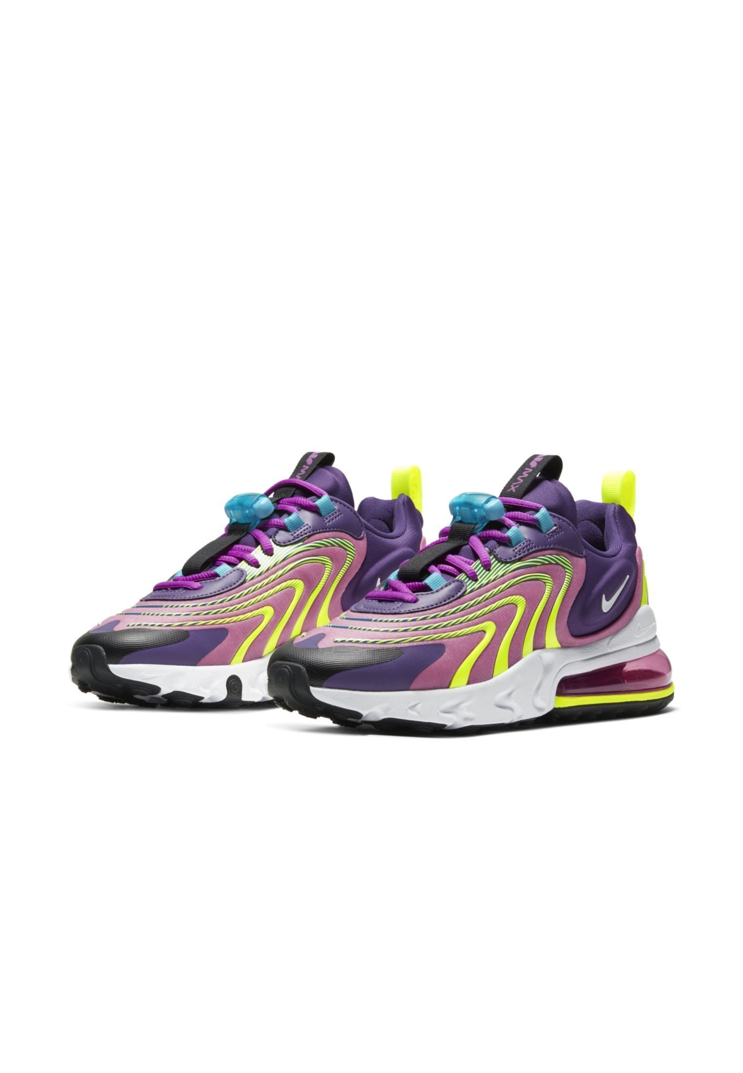 Nike Sportswear Air Max 270 React Eng Damenschuh - Sneakers Eggplant/magic Flamingo/vivid Purple/white